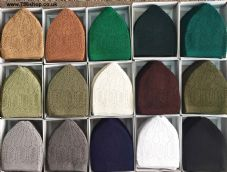 12 Mosque Islamic Pray Net Hat Full Box (Available in All mix Colours) Brand NEW